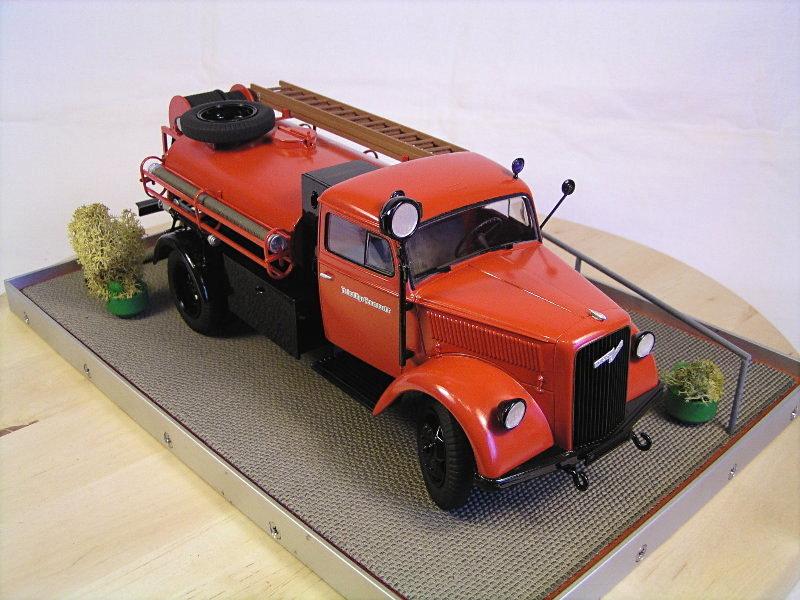 Opel Blitz Firetruck 1:24 Galeriebilder 07314