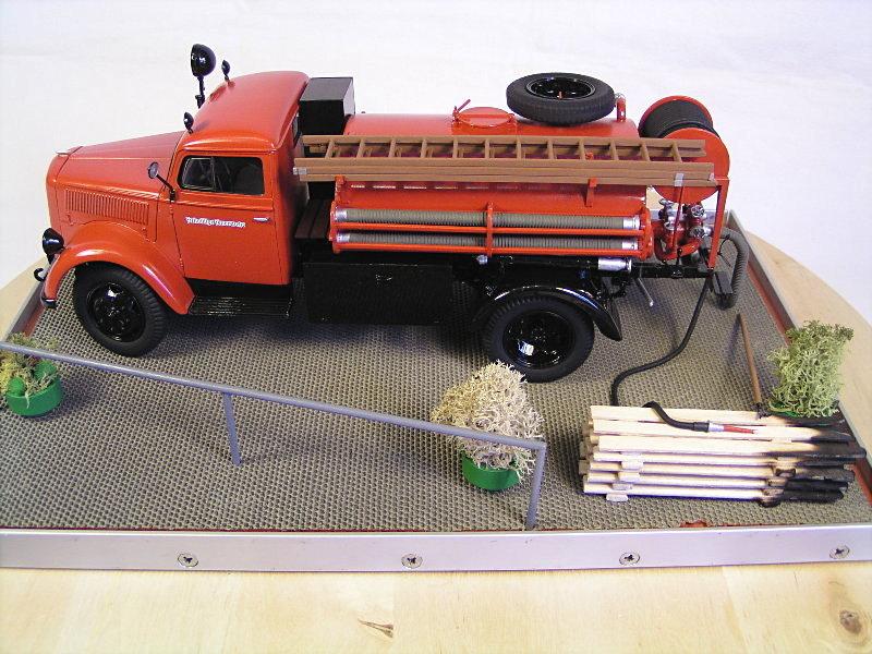 Opel Blitz Firetruck 1:24 Galeriebilder 07414