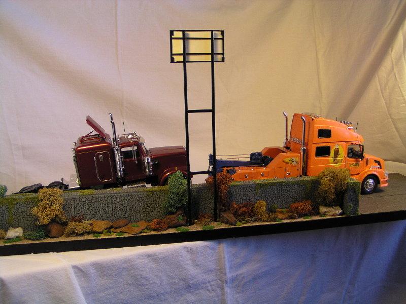 Diorama Abgeschleppt 49510