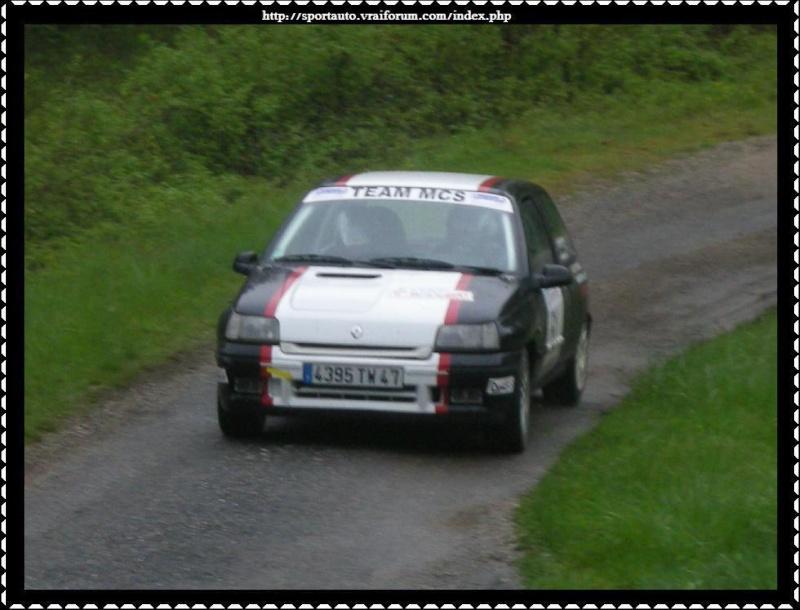Rallye du Quercy 2009 Montag10