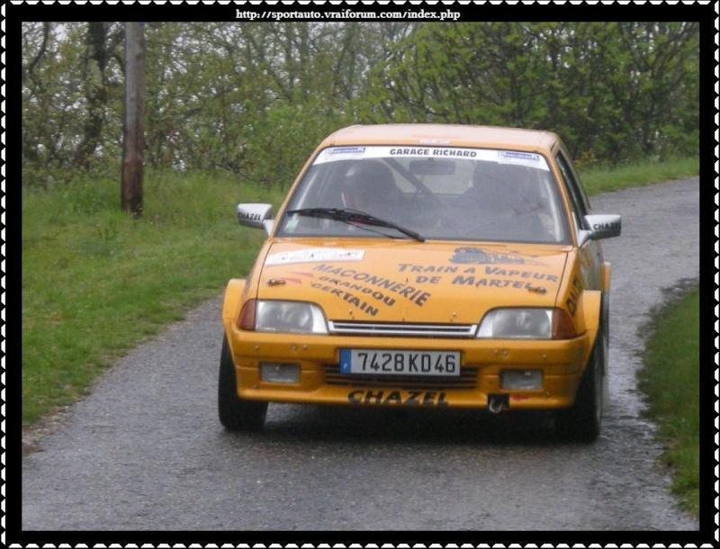 Rallye du Quercy 2009 Montag12