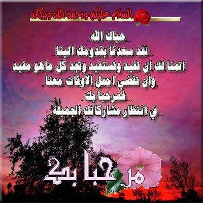 ترحيب بالعضو المميز ياسين الصائلي  من 1/5 46362011