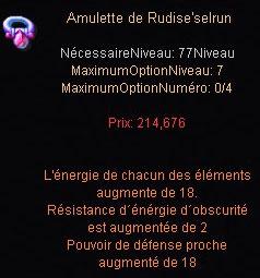 Craft des bijoux HL et des doubles résistances Amu-ru10