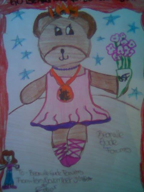 Draw a Bear for BGF Dibujo12
