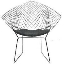 [Chaise] Diamant par Harry BERTOIA 001010