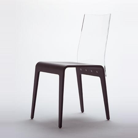 chaise altuglass chez roche bobois. Black Bedroom Furniture Sets. Home Design Ideas