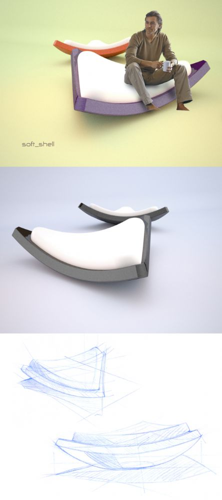[Rocking Chair] Soft Shell by Alexandre BOUCHER Concep10