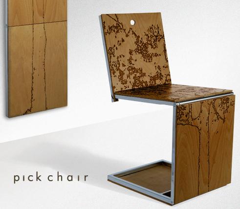 [Chaise] Pick Chair by Dror Benshetrit Pick2y10