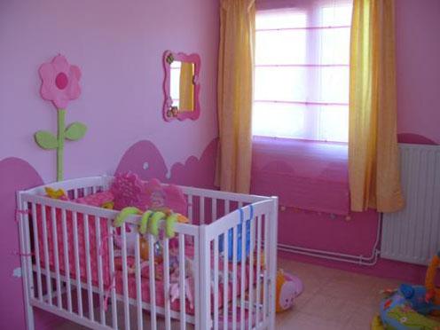 idée déco pour chambre de petite fille (photo résult p2) Rose-b10