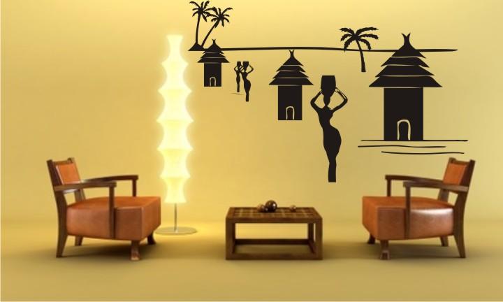 (article) La décoration Ethnique, L'ambiance Africaine Sticke10