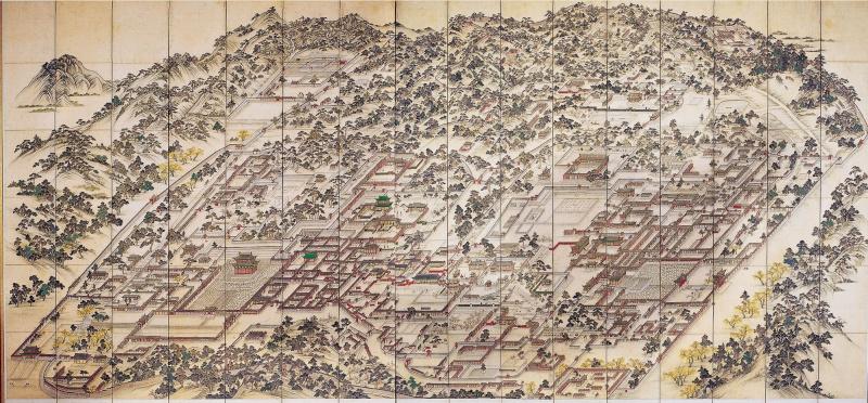 Le patrimoine en Corée Changd10