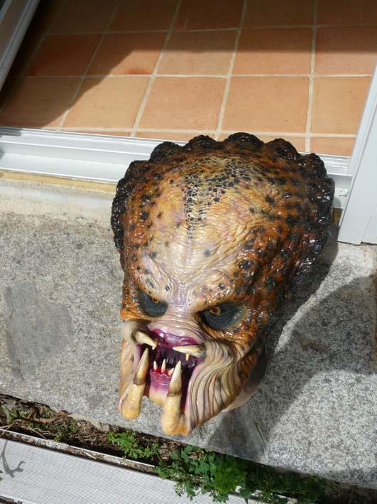 predator life size latex mask Mask_f11