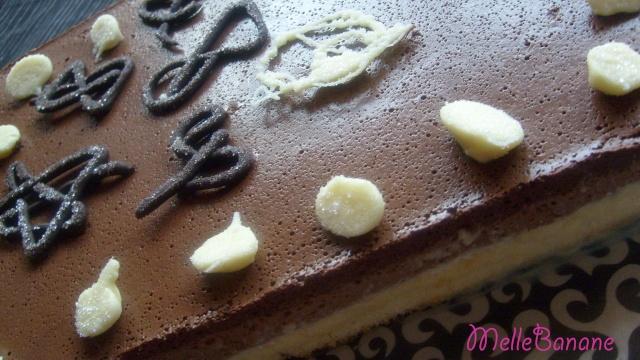 chocolat - Entremet aux 3 chocolats et son miroir de chocolat noir - Page 4 Entrem10