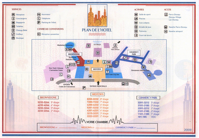 Disney's Hotel NEW YORK Img09510