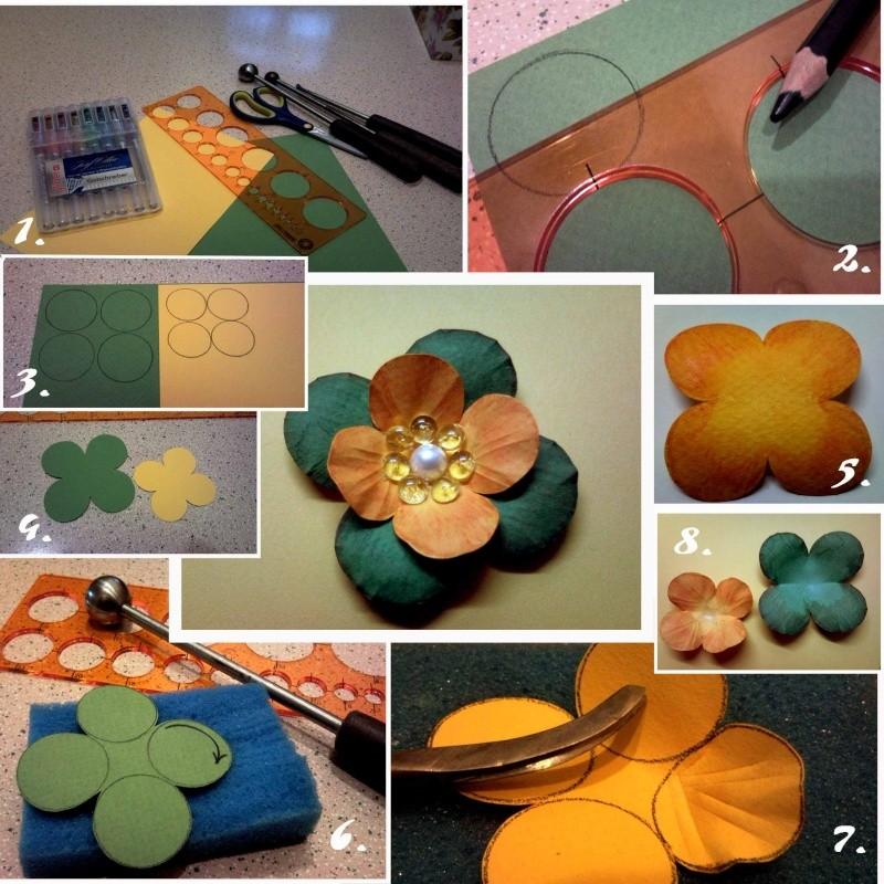Мастер-класс по изготовлению цветов Dddund10