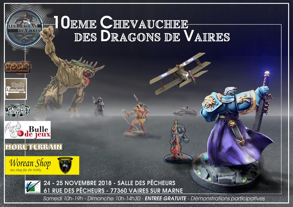 10° chevauchée de dragons de vaires, 24 et 25 novembre 2018 10chev10