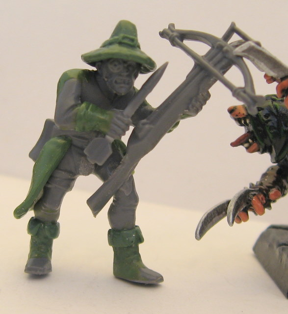hunter - WIP Witch Hunter from Empire Crossbowman Witch_26