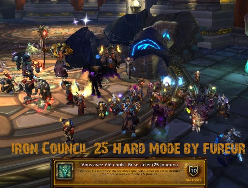 Iron Council hard mode 25 down ! Ichm10