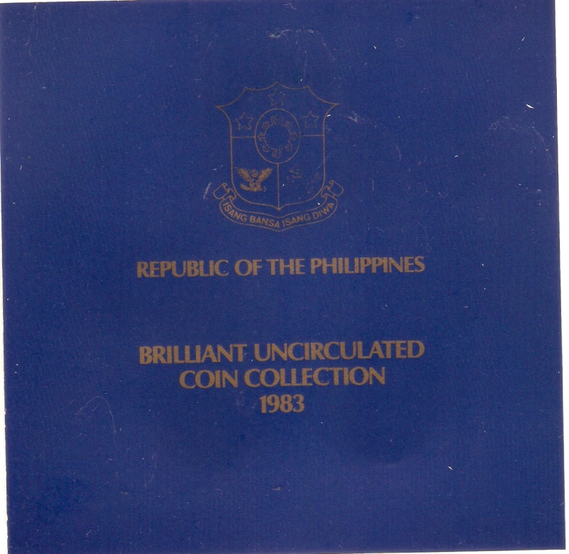 Coins for sale: For the benefit of a Typhoon Ondoy victim 1983-110