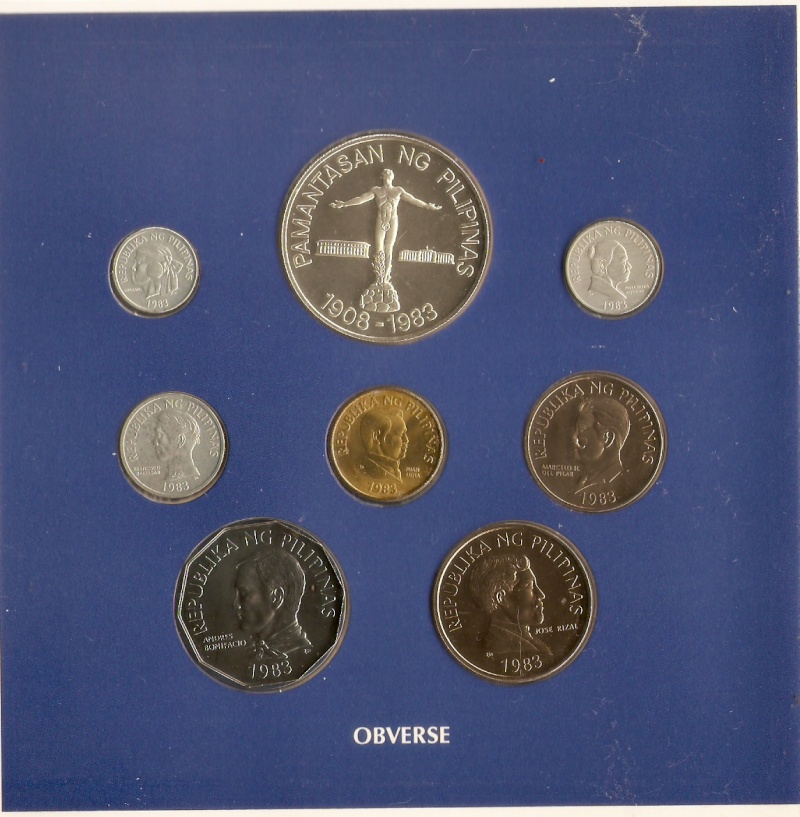 Coins for sale: For the benefit of a Typhoon Ondoy victim 1983-410