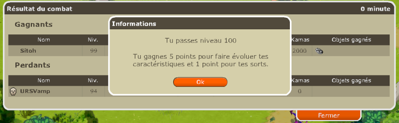 Le Dé Screen'mination Lvl10010