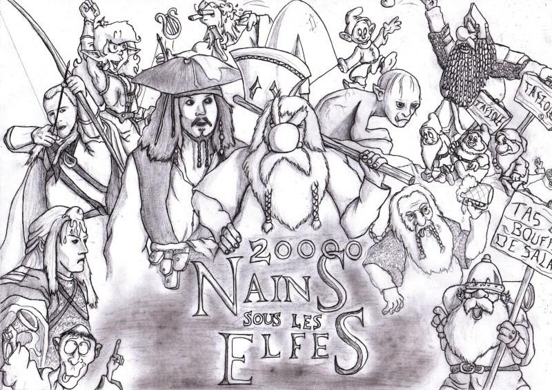 Sondage dessin 20000 Nains sous les Elfes 2000010