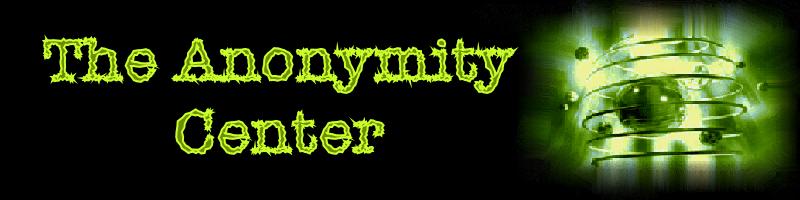 Anonymity Forum