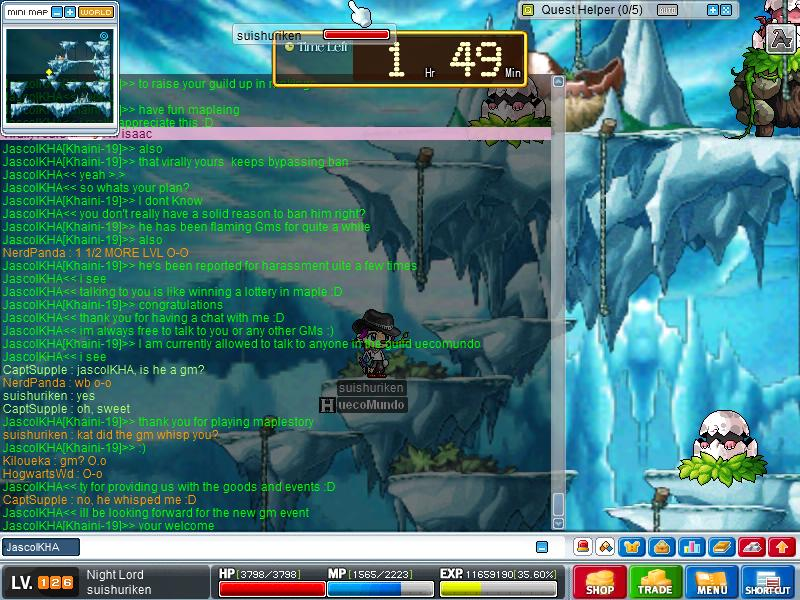 Chat with JascolKHA (GM) Maple019