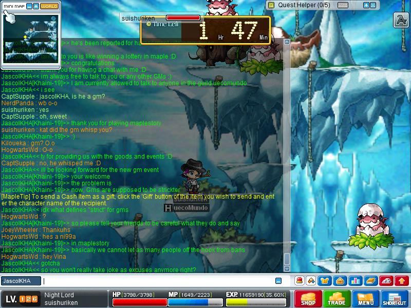 Chat with JascolKHA (GM) Maple020