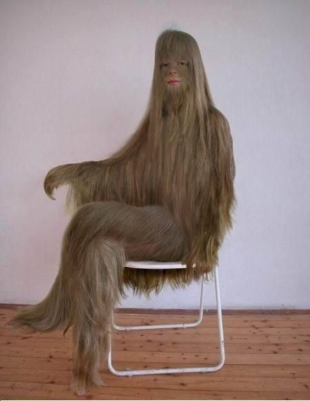 [Chaise] Hairy Chair by Charles KAISIN Ancoli19