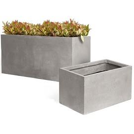 recherche grand pot de couleur gris Bac_en10