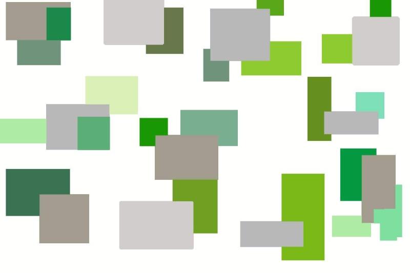 chambre enfant vert et gris Gris_e10