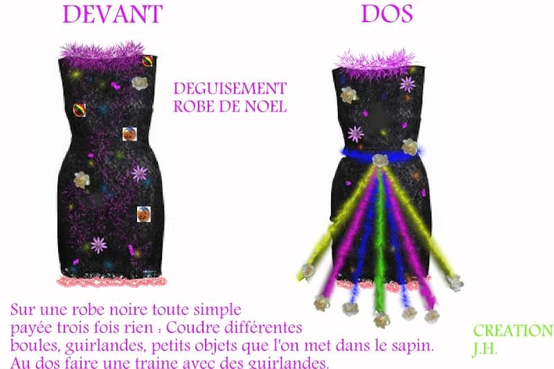 La robe pour NOEL  que j'avais créée en 1993 Robe_n10