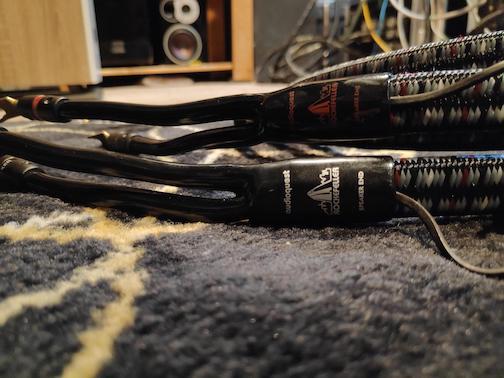 AudioQuest Rockefeller speaker cables (Used) 113
