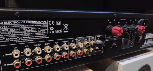 NAD C326BEE amplifier (Used) Img_2021