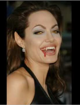 Edición grafica: Angelina Jolie vampira An10