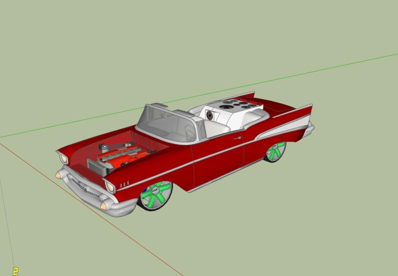 Google Sketchup Stuff Car110
