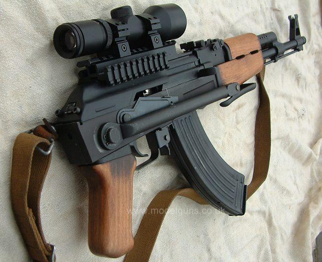 كل ماتريد معرفته عن سلاح الكلاشينكوف الروسي Ak Ak47tf10