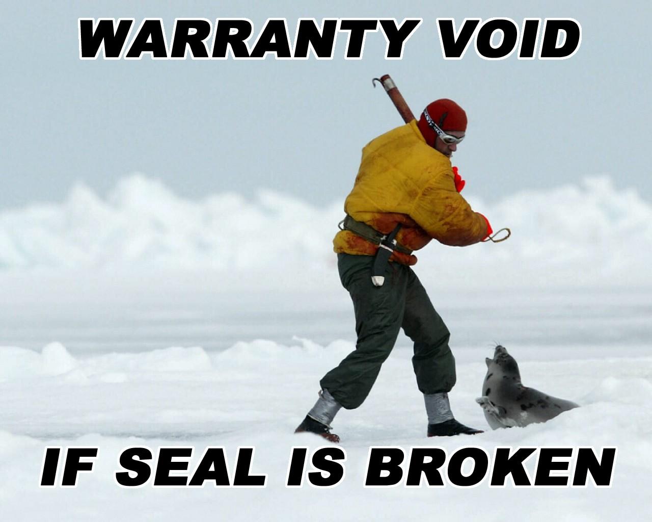 Desktop backrounds Seal_b10