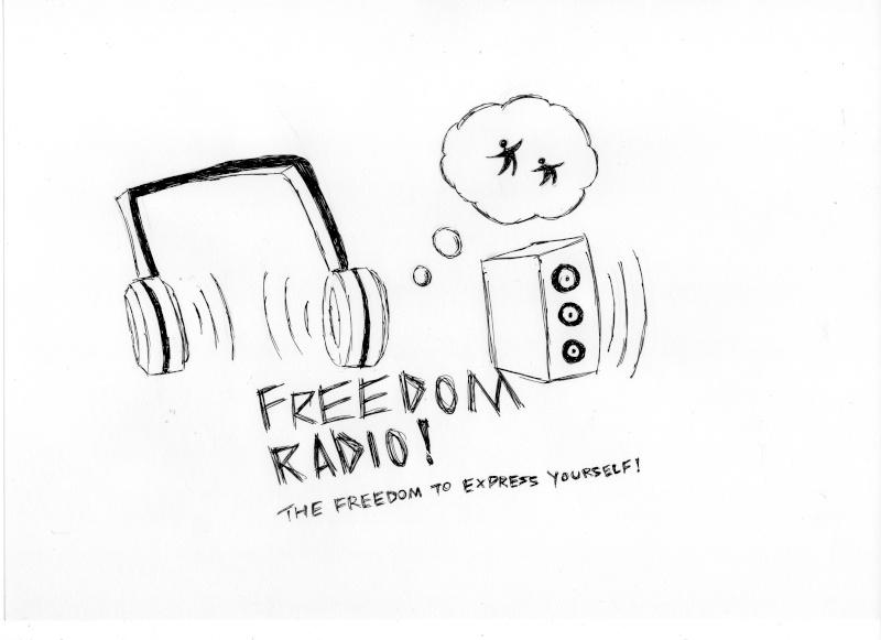 Freedom Radio Logo Contest (Rules, etc.) Logo_d10