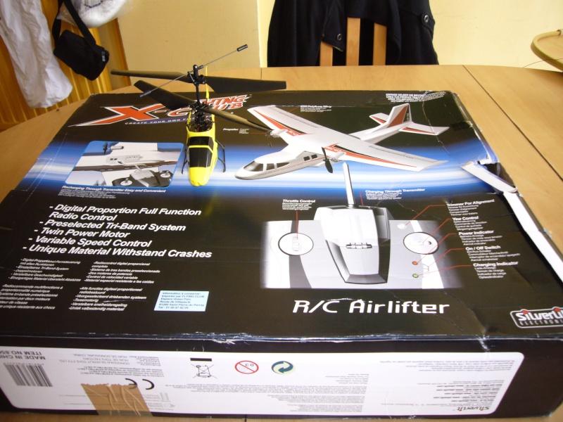 xtwin air lifter photo et video Avion_11