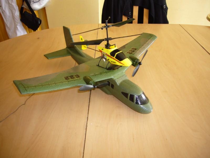 xtwin air lifter photo et video Avion_13