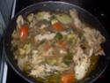 poulet en morceaux aux légumes. Poulet17