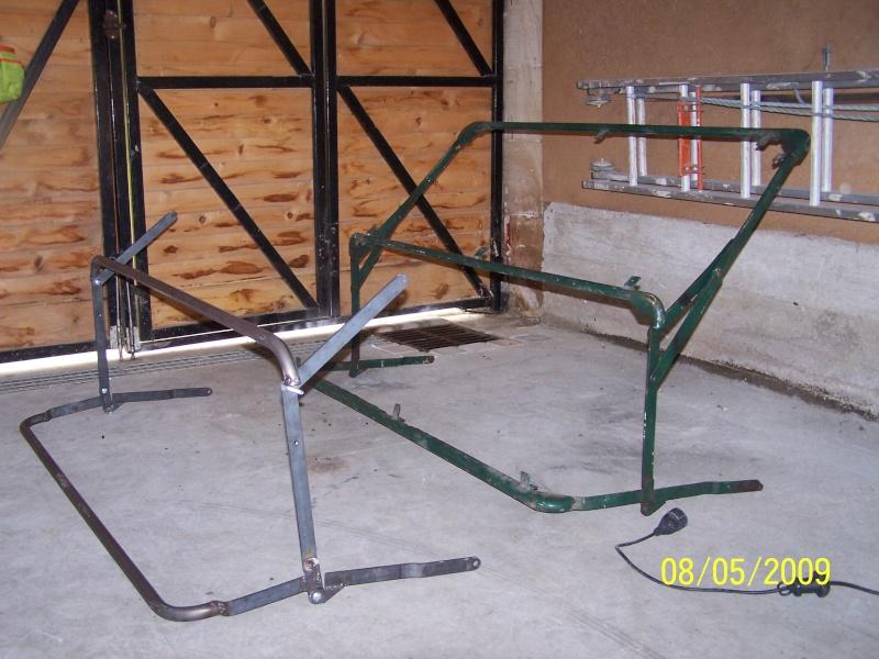 Fabrication des arceaux pour la bâche de toit d'un 411 100_2312