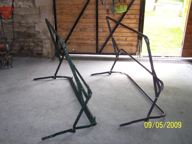 Fabrication des arceaux pour la bâche de toit d'un 411 100_2313