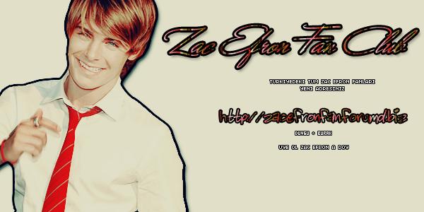 Zac Efron Fan Sitesi