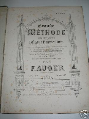Inventaire des méthodes d'harmoniums Auger10