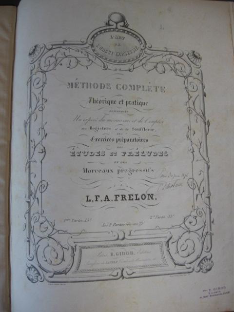 Inventaire des méthodes d'harmoniums Frelon10