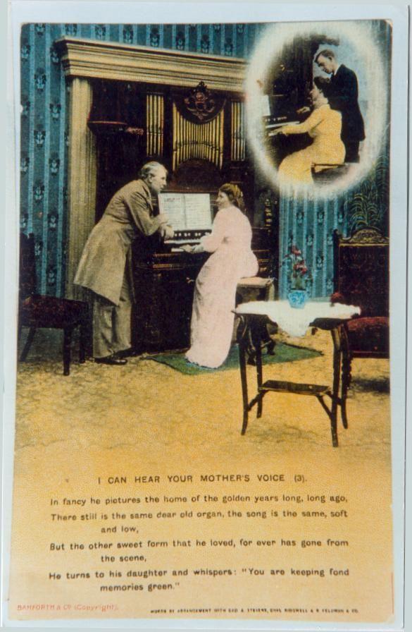 Cartes postales d'harmoniums et de reed organ Harmon10
