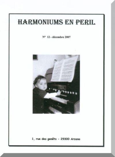 """Bulletins annuels de l'association """" Harmoniums en péril """" Hep_1210"""